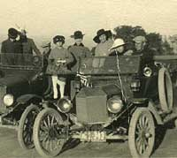 A pair of Model T Fords in the USA