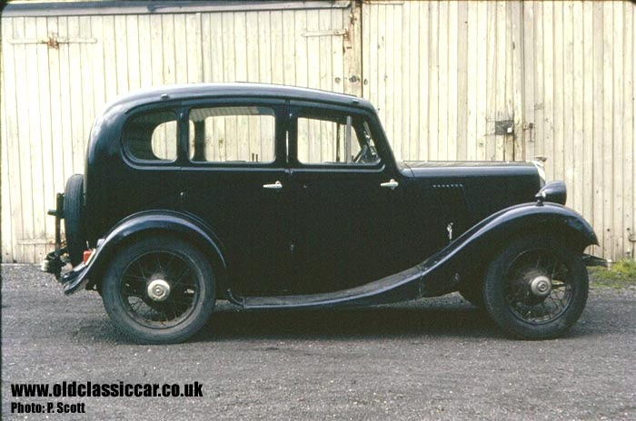 Morris 8 from 1936