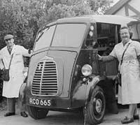 Morris JB grocery van