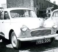 The same Morris Minor in Exeter
