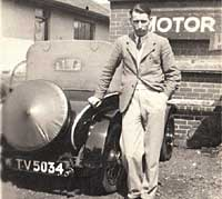 Pre-war Morris car photograph