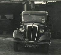 Morris 8hp car