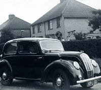 A 1946 Morris Eight Series E
