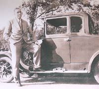 A Morris Cowley two-door Coupe, with dickey seat in the back