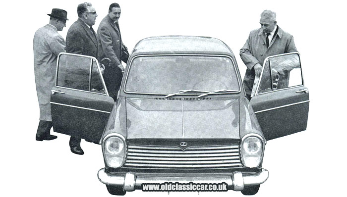 Innocenti IM3 version of the 1100 car