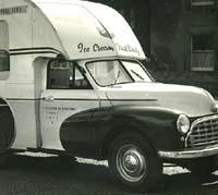 A classic Morris ice cream van