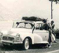 Morris Minor in Italy