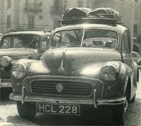 A 1955 Morris Minor