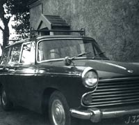 A classic Morris Oxford Traveller