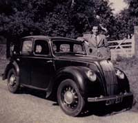 Morris 8hp Series E car