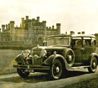 1930s Morris saloon car photo