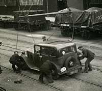 1935 Morris 10/4 car photograph