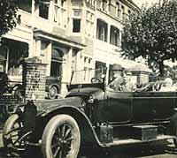 A vintage Mors car