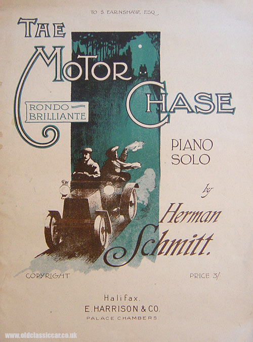 The Motor Chase piano solo