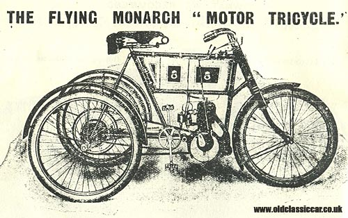 Flying Monarch 3 wheel motor tricycle