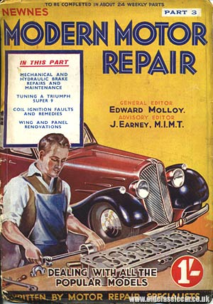 Car repair magazine cover