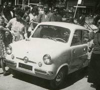 A Mikrus MR-300 on display