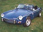 Modified Triumph Spitfire