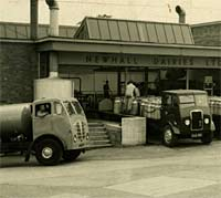 Milk tankers used by Newhall Dairies Ltd