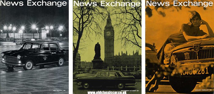 Nuffield's News Exchange motoring magazine