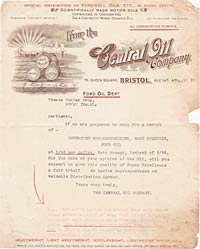 Oil company letter no.2