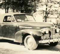 1939 Oldsmobile car