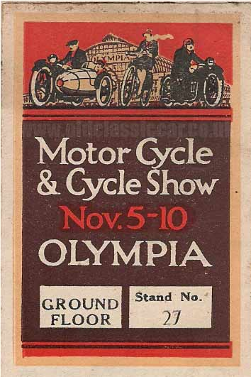 Olympia exhibition hall in London