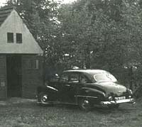 Opel Kapitan saloon