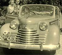 Opel Olympia 1950 convertible