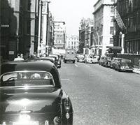 1953 Opel Olympia Rekord parked in London