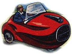 Bubble Car & Scooter cigarette/collectors' cards