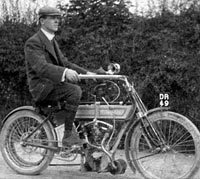 Another vintage motorcycle