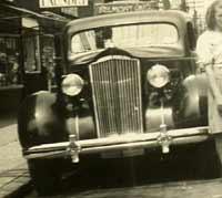 Pre-war Packard motorcar