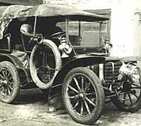 Panhard et Levassor veteran car A-504
