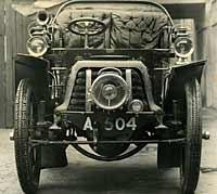 1902 Panhard et Levassor seen in 1963
