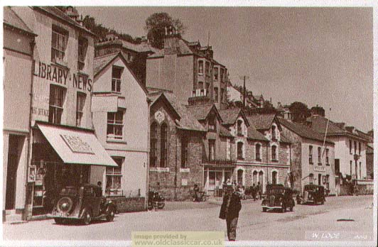 postcard of West Looe