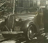 Plymouth Coupe of 1937