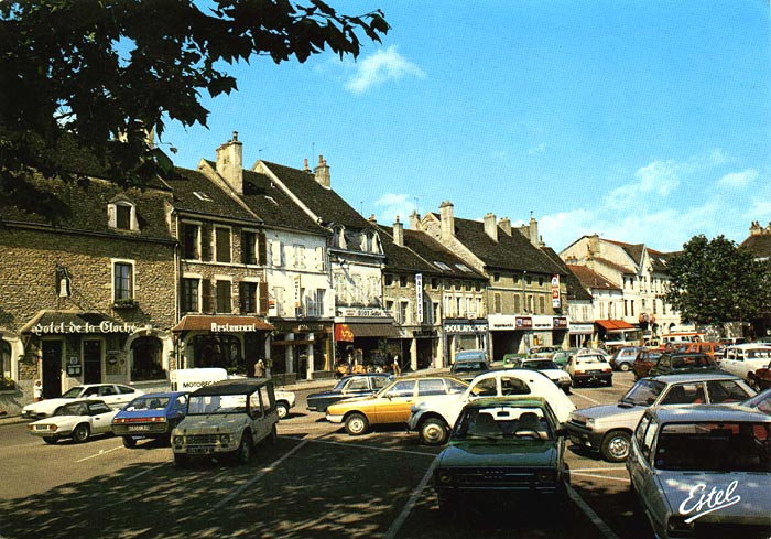Beaune postcard