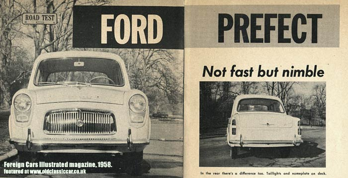 Ford 100E Prefect on test