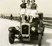 A pre-war Austin Six saloon car photo