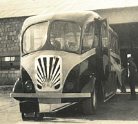 RAF bus with 107 MU in Egypt