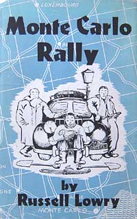 Book about the Monte Carlo rally