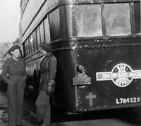 Royal Army Service Corps bus