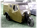 Old Reliant 3 wheel van
