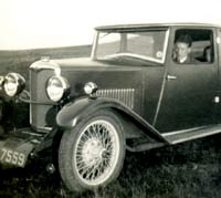 A Riley 9 Monaco car of 1930/1931