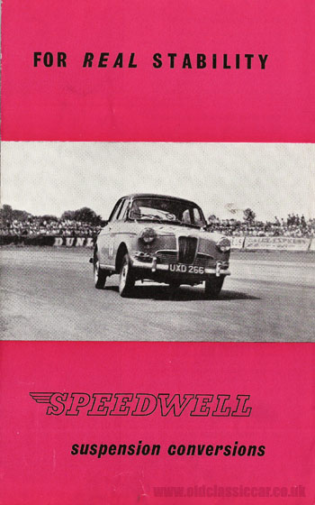 Speedwell-tuned Riley 1.5