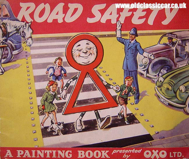 Road safety booklet from the 1950s