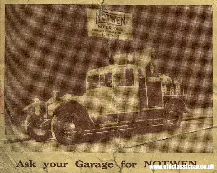Vintage Rolls-Royce converted into a promotional vehicle