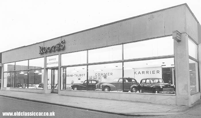 A Rootes Group garage