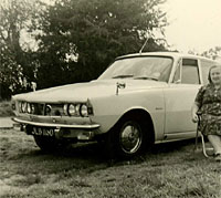 The same Rover in 1967